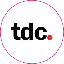 Logo for Type Directors Club (TDC), an organisation on-IDLE is a member of